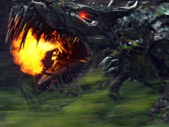 Transformers-age of extinction-grimlock-photo fire