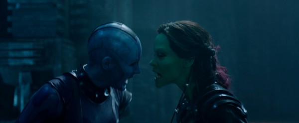 guardians-of-the-galaxy-Nebual Gamora face to face photo
