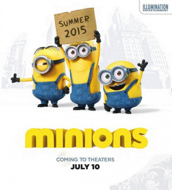minions movie poster 2015
