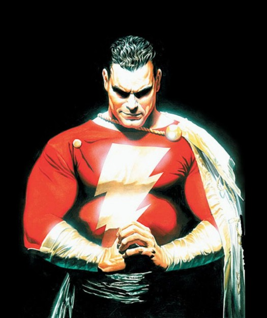Captain-Marvel-Shazam-JSA-Alex-Ross-comic book cover