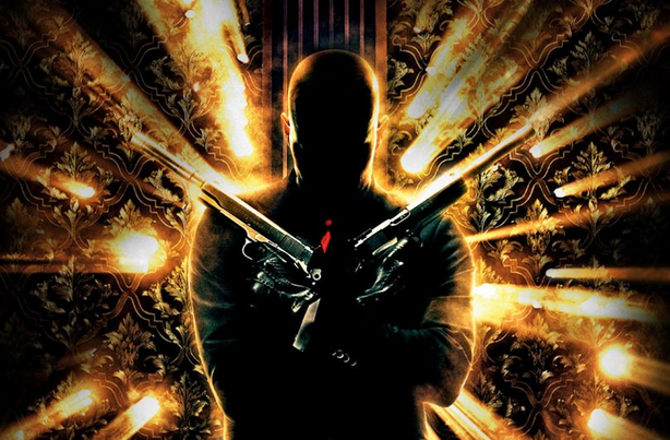 Hitman movie promotional poster
