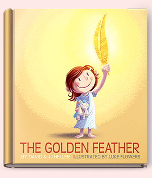 The Golden Feather by jj heller dave heller
