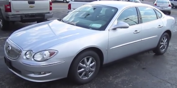 2009 Buick LaCrosse Image/Video Screen Shot