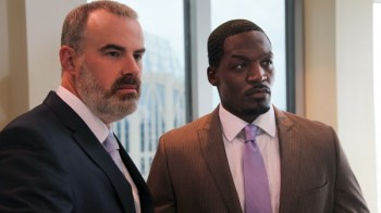 "Alex Kendrick and TC Stallings in ""War Room"""