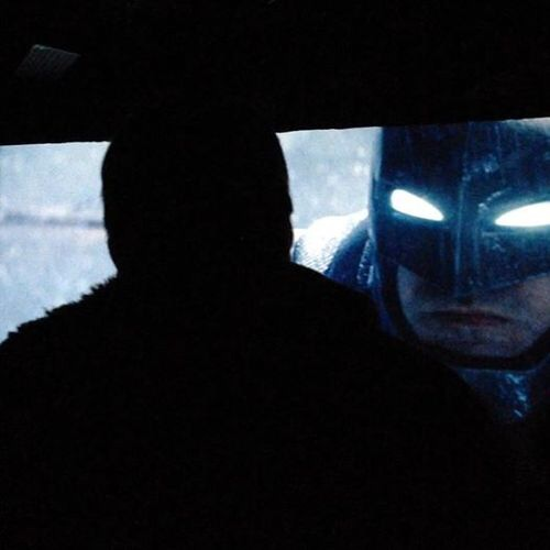 Batman v Superman Dawn of Justice first look Batman cowl SDCC