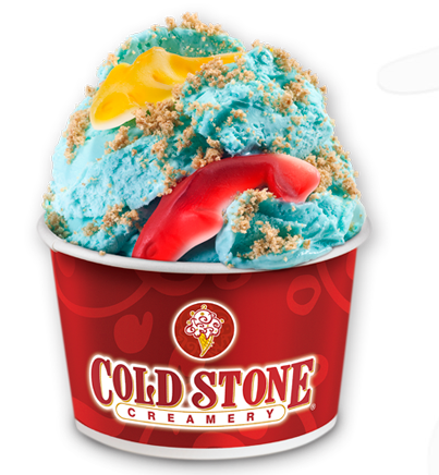 "Cold Stone's ""Shark Week"" ice cream is just the latest in a long, storied history of the desert photo/Cold Stone Creamery"