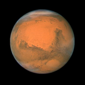 Water on Mars? Doesn't sound like it. photo/NASA