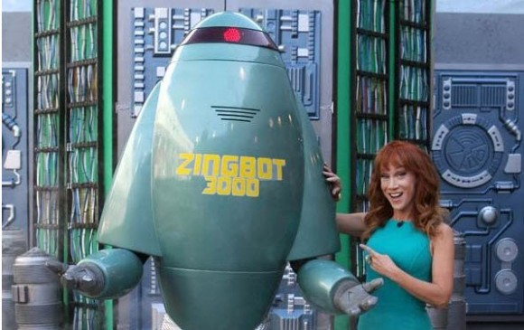 Kathy Griffin recently appeared on CBS's Big Brother during the Zingbot episode