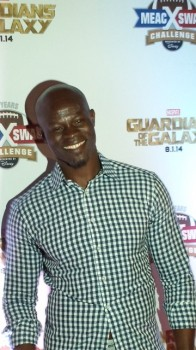Djimon Hounsou Red carpet guardians of the galaxy event Orlando Disney