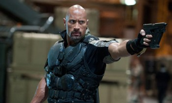 Dwayne Johnson in GI Joe: Retaliation