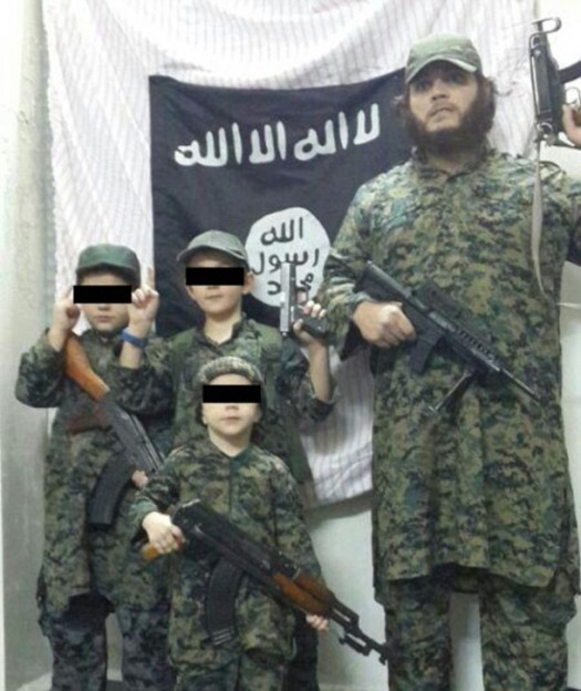 Khaled Sharrouf's son in ISIS photo