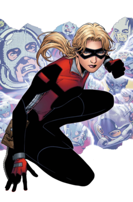 Young avengers presents 5 Cassie Lang cover