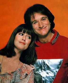 mork_mindy promo pic Pam Dawber Robin Williams