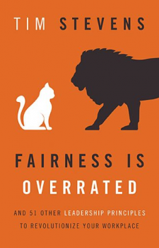 Fairness is Overrated Tim Stevens book cover