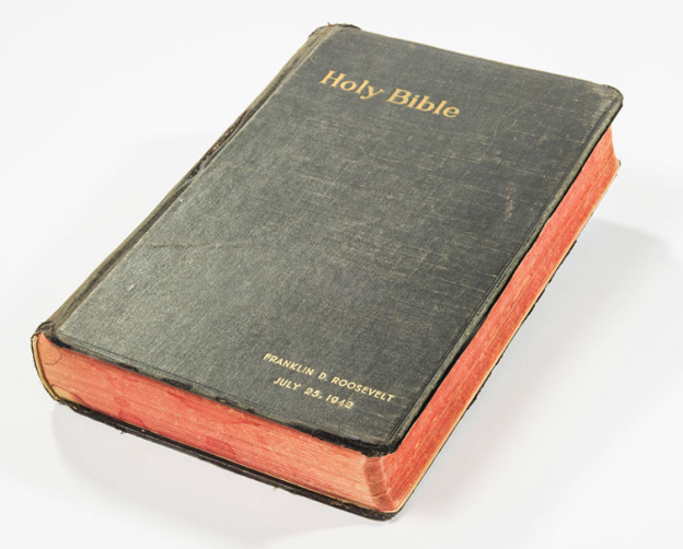 Franklin D  Roosevelt's Bible  photo supplied RRAuction.com