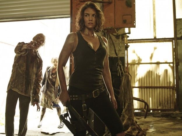 Lauren Cohan as Maggie Greene - The Walking Dead   Season 5