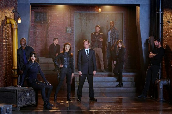 Marvel Agents of SHIELD season 2 cast photo