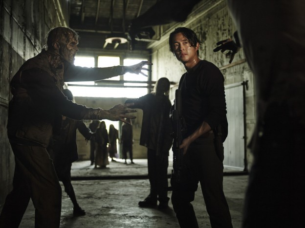 Steven Yeun as Glenn Rhee - The Walking Dead    Season 5