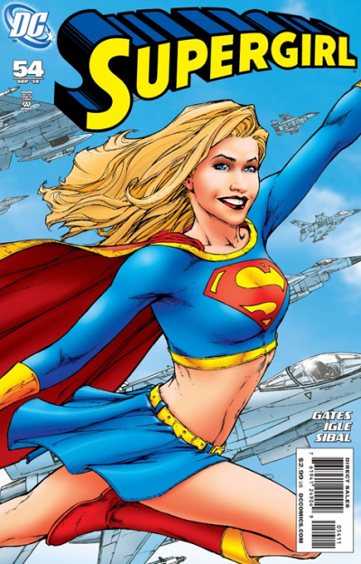 Supergirl #54 comic book cover