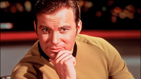 william-shatner as Kirk Star Trek photo