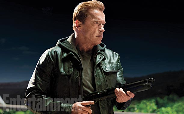 Arnold Schwarzenegger Terminator Genisys  first photo