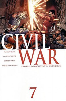 Civil_War_7 comic book cover