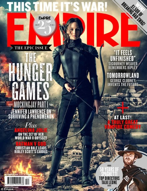 Jennifer Lawrence Hunger games Mockingjay cover