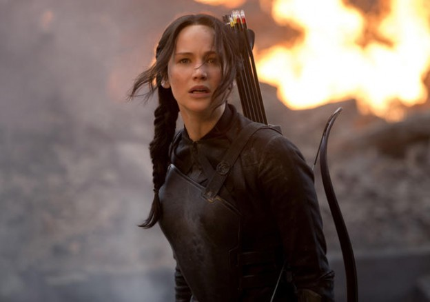 Jennifer Lawrence as Katniss Hunger games mockingjay photo