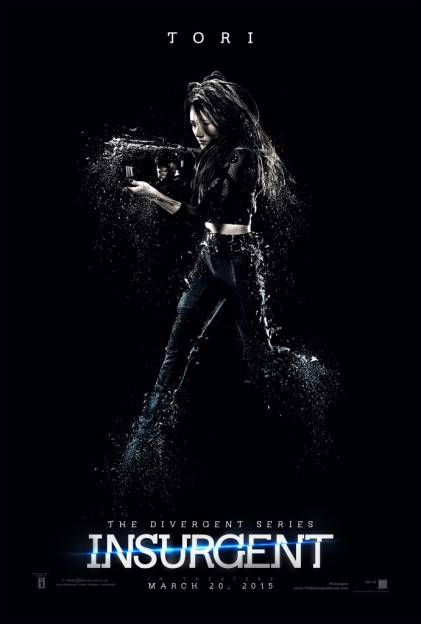 Maggie Q as Tori Insurgent motion poster