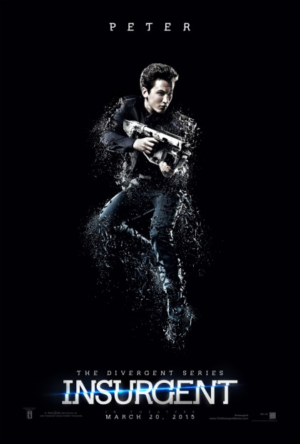 Miles Teller as Peter Insurgent motion poster