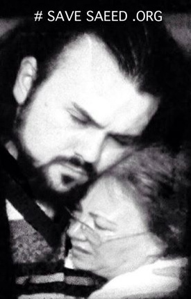 Pastor Saeed Abedini with his Mom