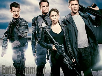 Terminator Genisys first cast photo Matt Smith Jai Courtney