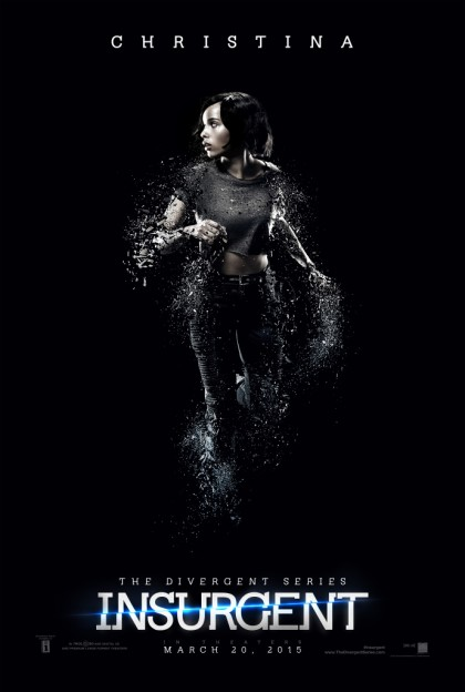 Zoe Kravitz as Christina Insurgent motion poster