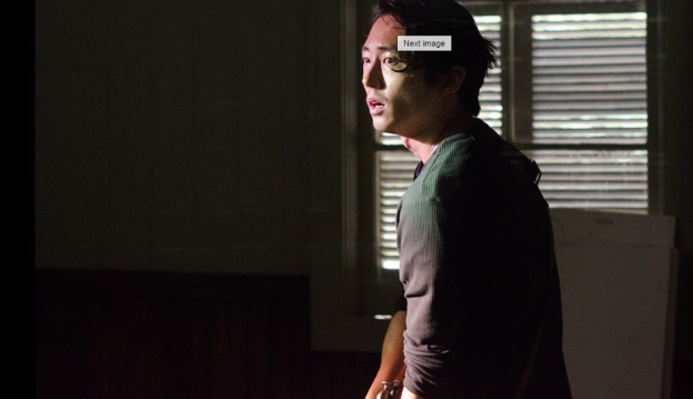 the-walking-dead-episode-502-steven yeun as glenn
