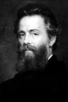 Herman Melville portrait by Joseph O. Eaton, Library of Congress