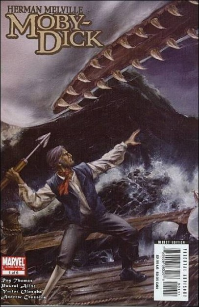 Moby Dick comic book marvel comics