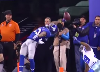 Odell Beckham Jr Greatest Catch of all time New York Giants dallas Cowboys
