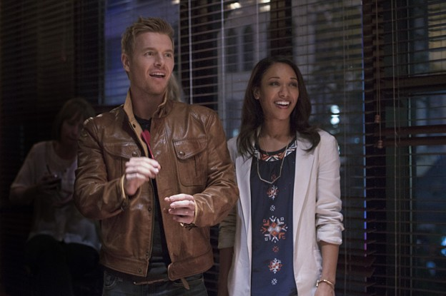 Rick Cosnett Candace Patton the Flash photo