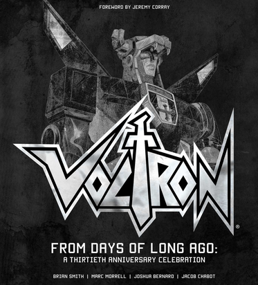Voltron From Days of Long Ago cover