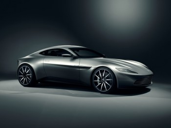"The new Aston Martin featured in next year's James Bond film: ""Spectre"""