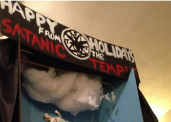 Satanic Temple display coming to Florida photo/Satanic Temple