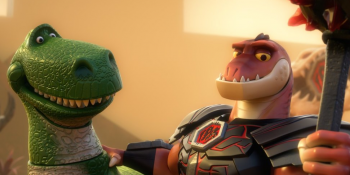 Toy Story that Time Forgot Rex and dinosaur photo
