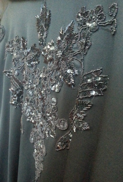 closeup Phantom of the Opera cape