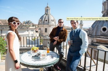 the man from Uncle photo Armie Hammer Henry Cavill