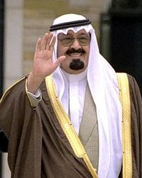 King Abdullah of Saudi Arabia   photo Tina Hager, public domain per wikipedia