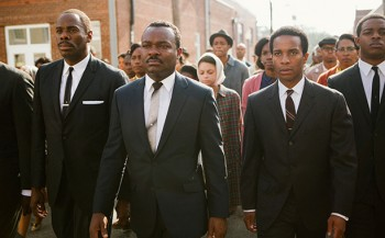 "David Oyelowo as MLK in ""Selma"""