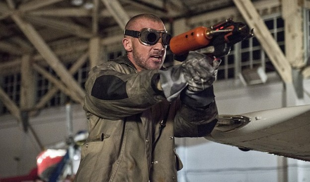 Dominic Purcell as Heat Wave on The Flash