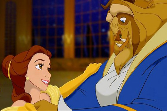 beauty-and the beast-disney belle dances with beast