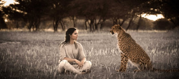 "Anna Fenninger joins ""Big Cat Initiative"" photo/ Kampa/Kettner courtesy of National Geographic"