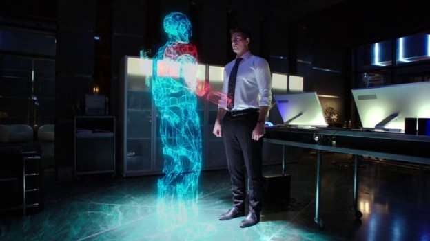 Atom costume Brandon Routh as Ray Palmer on Arrow season 3